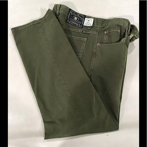 Lucky Brand Jeans, Green, 36 30, Slim Fit